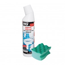 Гель для чистки туалета 650мл RU + Губка для посуды 'Пур-актив' VILEDA (арт.321060161/1 +арт.525848)