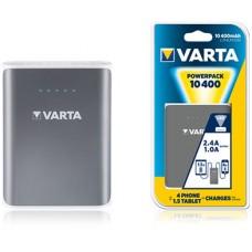 Аккумулятор Varta Portable Power Bank + кабель зарядный, 10400 МАЧ