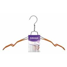 Вешалка для рубашек/платьев оранжевая