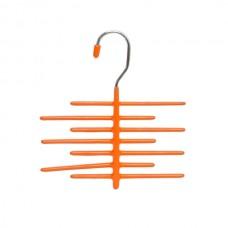 Вешалка для галстуков 8см цвет: оранжевая