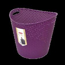 Корзина My Style Curver круглая фиолетовая