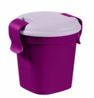 Контейнер Lunch&Go малый фиолетовый прозрачный