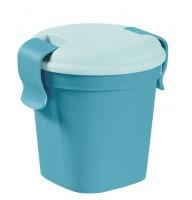 Контейнер Lunch&Go малый голубой прозрачный