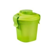 Контейнер Lunch&Go малый зеленый прозрачный