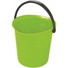 Ведро 9л зеленый/серый