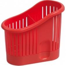 Сушилка для столовых приборов красная