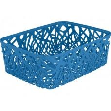 Корзинка прямоугольная Neo colors голубая