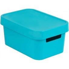 Коробка Infinitiс крышкой 4,5 л синяя