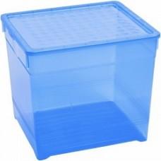 Контейнер для хранения  Textile Line 5,7л голубой