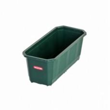 Балконный ящик для цветов 60 см зеленый