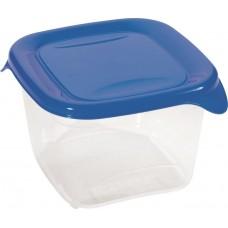 Контейнер для хр.пищ.прод. квадратный Fresh&go 0,45л синий/прозрачный УКРАИНА