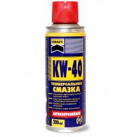 """Универсальная смазка KW-40 ТМ """"KRAFT""""  в аэрозольной упаковке  200 мл"""