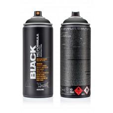 Аэрозольная краска Montana Black 400 мл, Black (BLK9001)