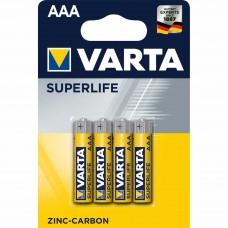 Батарейка 4шт VARTA SUPERLIFE 4AAА R03P