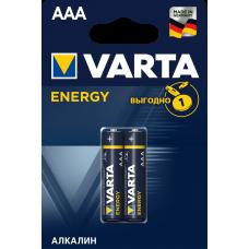 Батарейка 2шт VARTA ENERGY AAА LR03