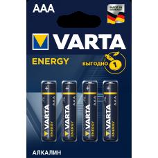 Батарейка 4шт VARTA ENERGY AAА LR03