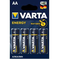 Батарейка 4шт VARTA ENERGY AA LR6