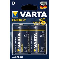 Батарейка 2шт VARTA ENERGY D LR20