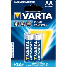 Батарейка 2шт VARTA HIGH ENERGY 2 AA 1.5V LR6