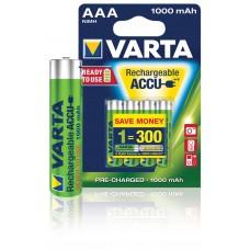 Аккумуляторы Rechargeable Accu 3+1 AAA 1000 mAh R2U (блистер 4шт)
