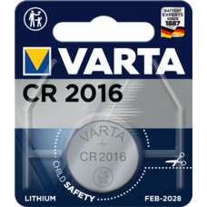 Батарейка 1шт VARTA LITHIUM CR2016 3V