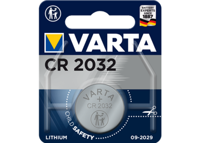 Батарейка 1шт VARTA LITHIUM CR2032 3V