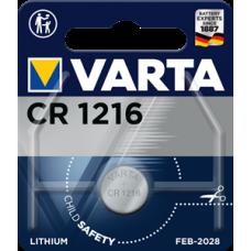 Батарейка 1шт VARTA LITHIUM CR1216 3V