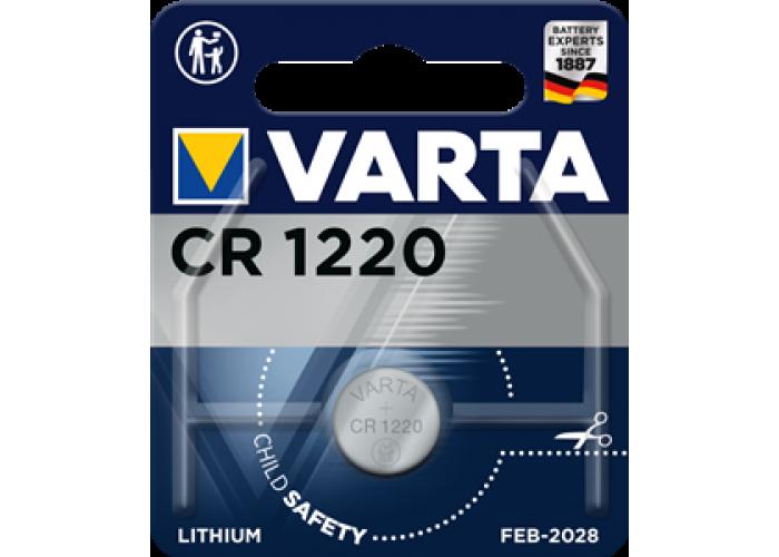 Батарейка 1шт VARTA LITHIUM CR1220 3V