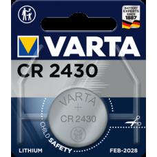 Батарейка 1шт VARTA LITHIUM CR2430 3V
