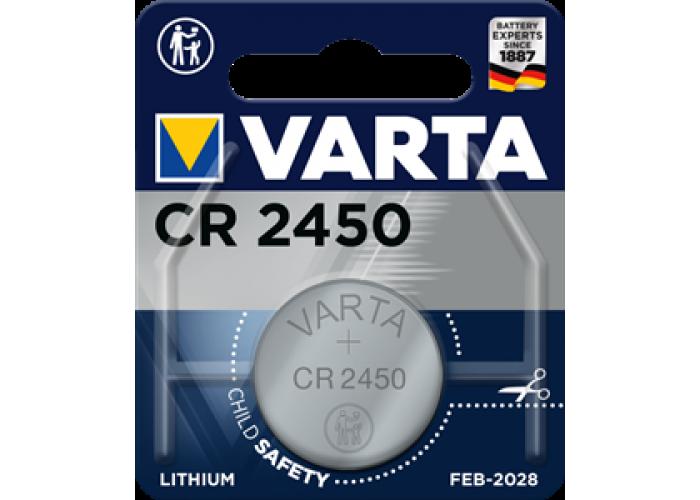 Батарейка 1шт VARTA LITHIUM CR2450 3V