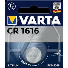 Батарейка 1шт VARTA LITHIUM CR1616 3V