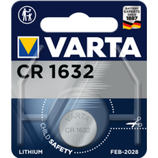 Батарейка 1шт VARTA LITHIUM CR1632 3V