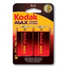 Батарейка Kodak MAX LR20 D (2шт. в упаковке)