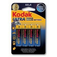 Батарейка Kodak ULTRA LR6  AA (4шт. в упаковке)