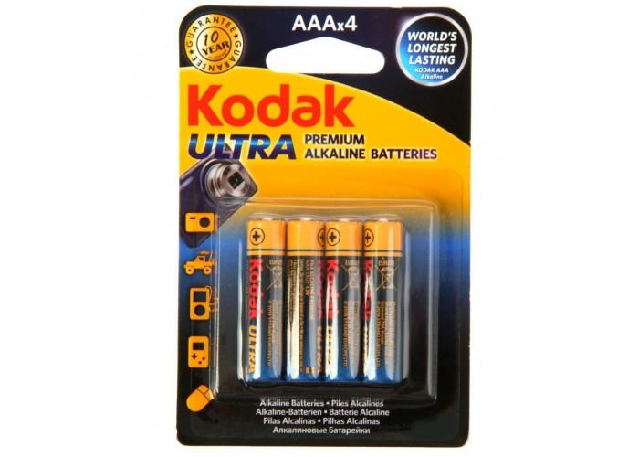 Батарейка Kodak ULTRA LR03 AAA (4шт. в упаковке)