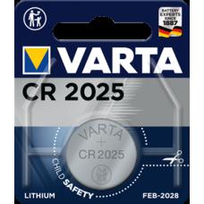 Батарейка 1шт VARTA LITHIUM CR2025 3V