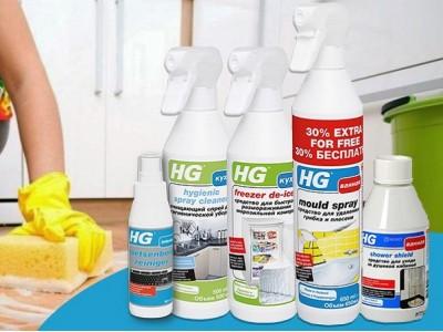 Дезинфекция на максимум: HG на страже вашего дома